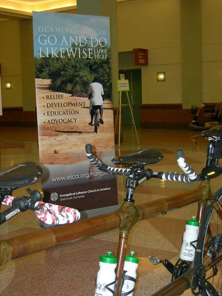 Tour de Rev's bamboo bike