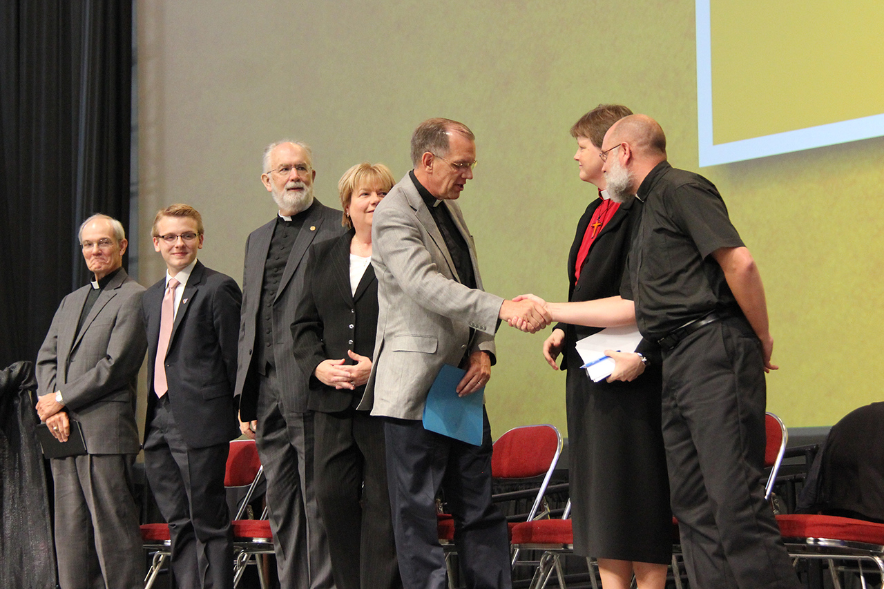 Nominees for secretary of the ELCA are finished with their responses.