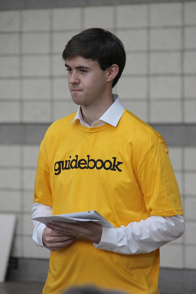 Nolan Wilson represents the Guidebook company.