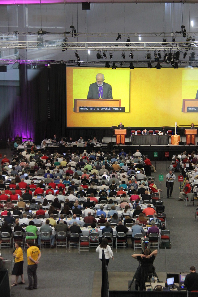 A view of the 2013 Churchwide Assembly.