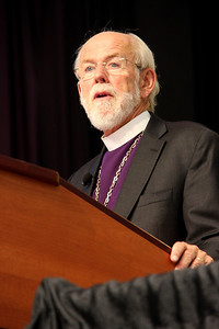 The Rev. Mark S. Hanson presents the report of the presiding bishop.