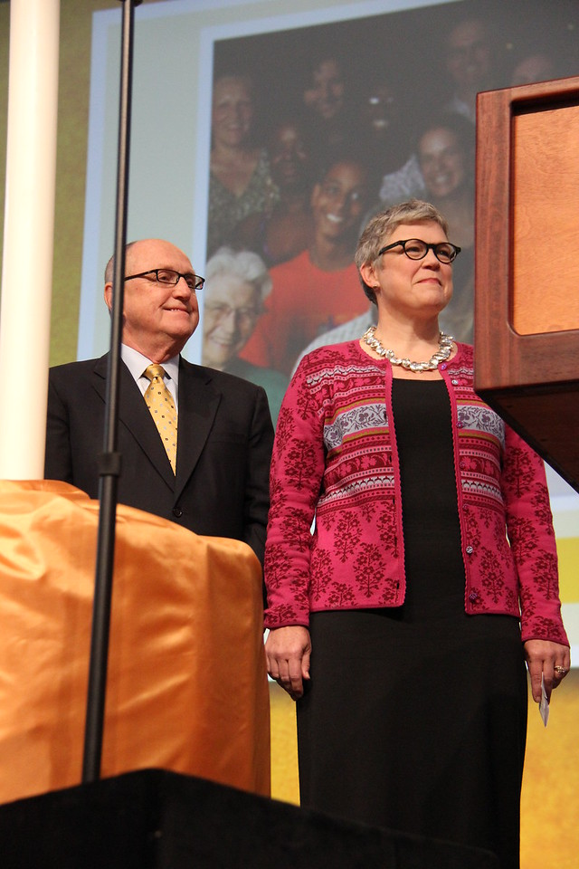 MaryAnn and Loren Anderson will serve as chairs of the ELCA Campaign Steering Committee, should the Assembly approve the 25th Anniversary Campaign.