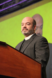 The Rev. Jonathan Eilert, chair of the Nominating Committee, gives the committee's report.