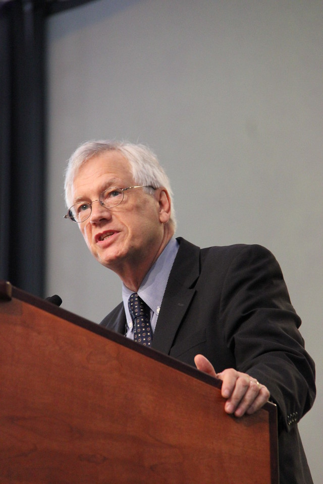 David Swartling, secretary of the ELCA, speaks to the Assembly.
