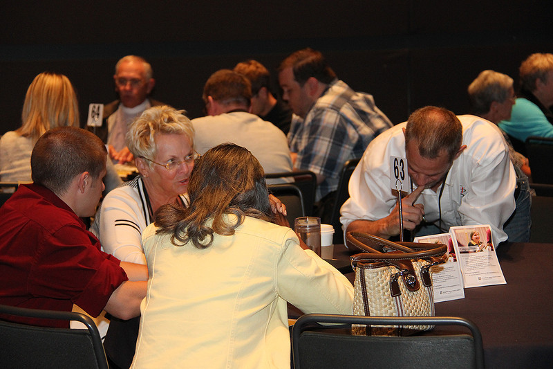 Voting members participate in daily Bible study.