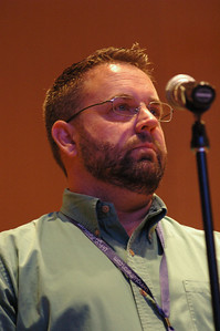 Jeff Johnson asks Presiding Bishop Mark S. Hanson a question