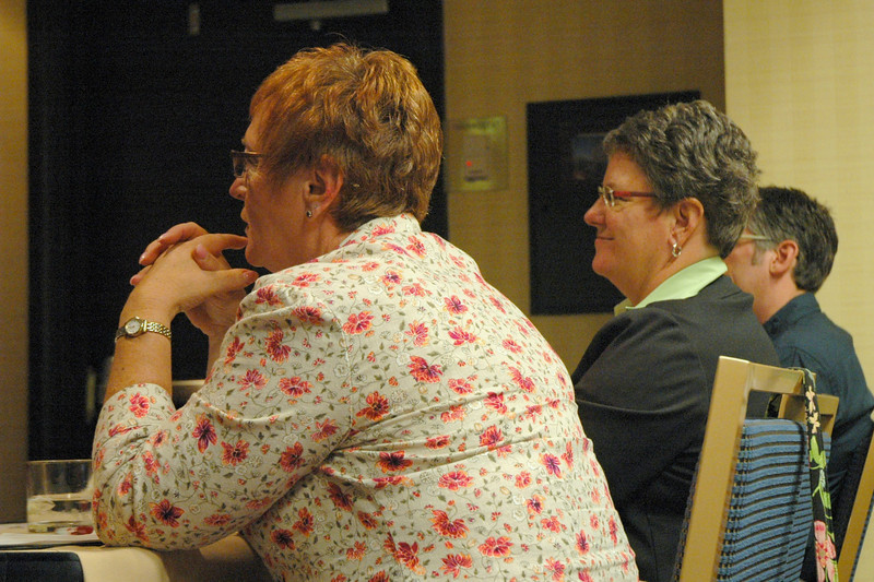 """Participants at the """"Webcasting for Any Budget"""" workshop"""