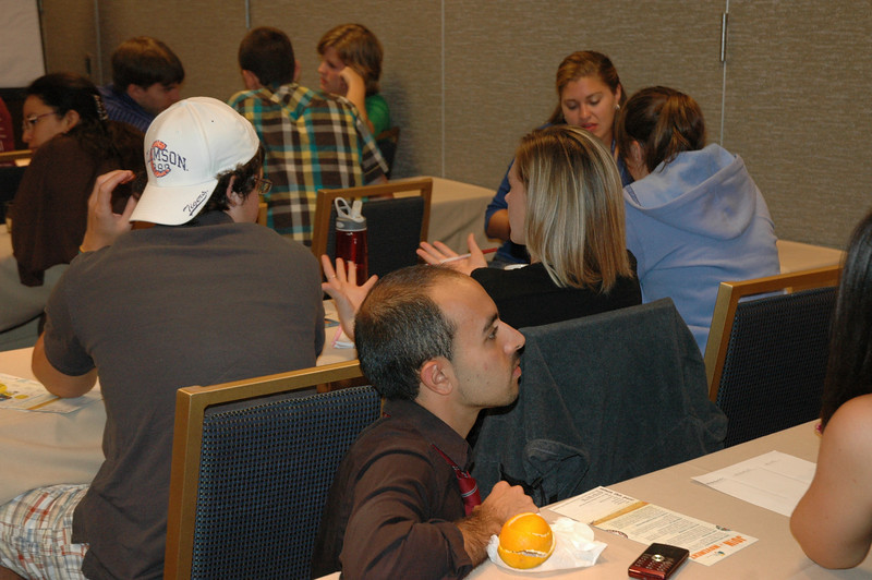 Participants during a Follow Me workshop