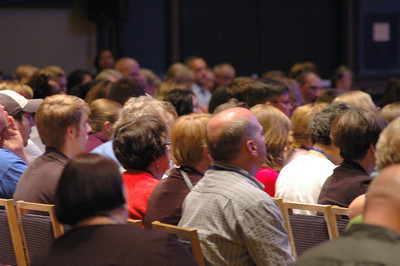 Participants during the question and answer period