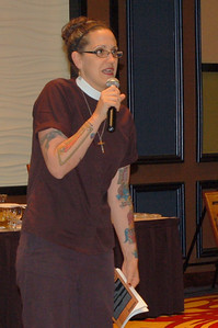 The Rev. Nadia Bolz-Weber of House for All Sinners and Saints, Denver, Colorado