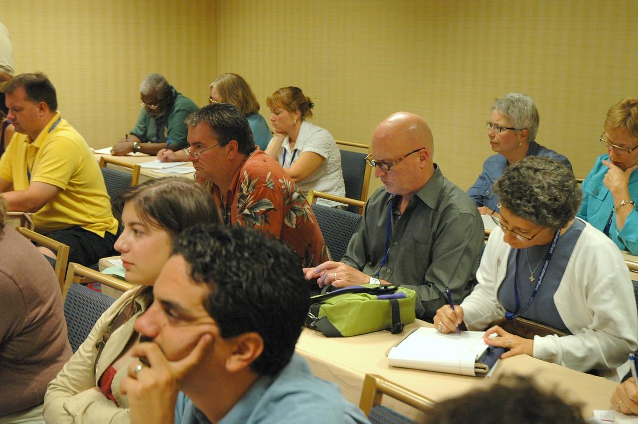 Participants at a workshop