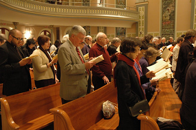 More than 300 parishioners attended the Oct. 1 JDDJ celebration in Chicago.