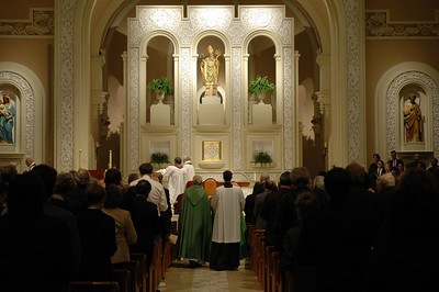 More than 300 people attended the Oct. 1 JDDJ celebration at Old St. Patrick Church, Chicago.