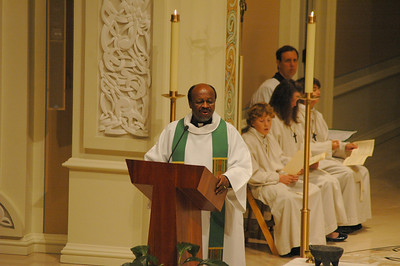 The Rev. Ishmael Noko, general secretary, the Lutheran World Federation, offers a concluding address at the Oct. 1 JDDJ celebration in Chicago.