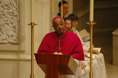Archbishop Wilton D. Gregory, Archdiocese of Atlanta, delivers the homily at the Oct. 1 JDDJ celebration in Chicago.