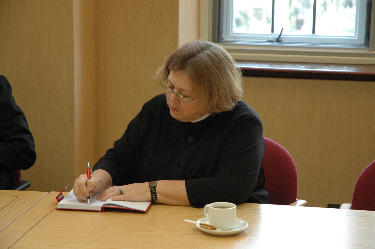 The Rev. Susan Langhauser, Olathe, Kan., is one of three ELCA Church Council members on the 2010 ELCA Ecumenical Journey.