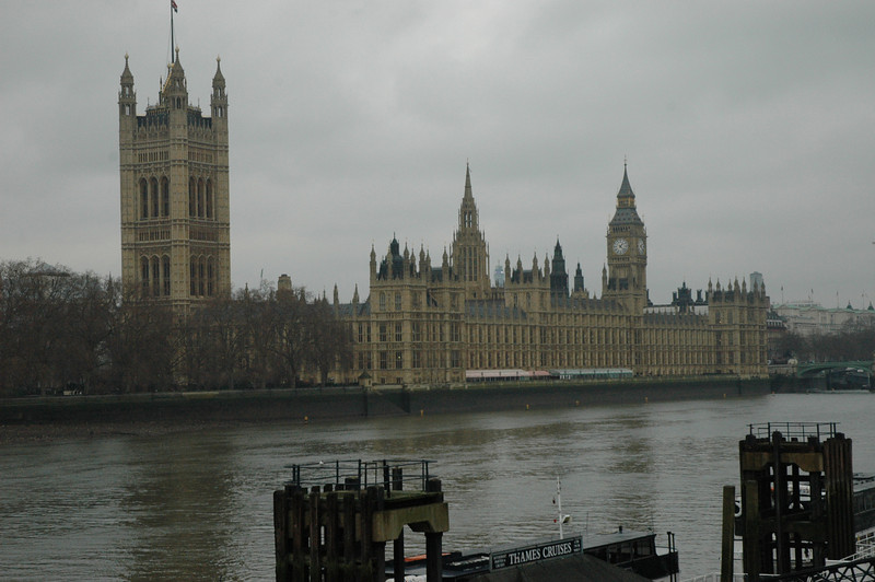 The Parliament building, London.