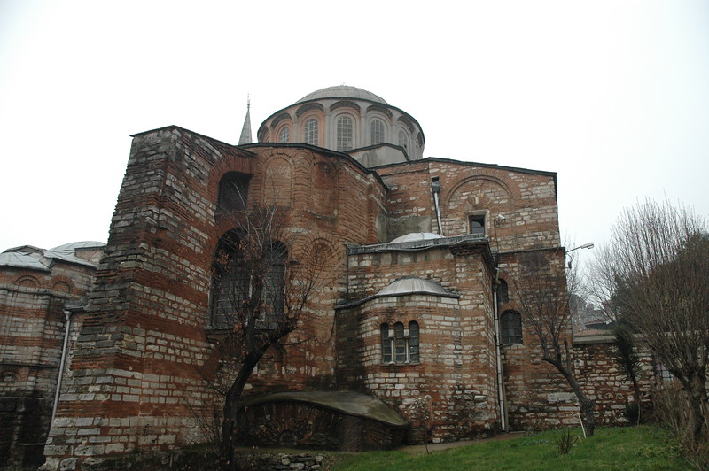 The ELCA delegation visited the Church of Chora, a Christian Church in Istanbul that became a mosque, and is now being restored back to its original state.