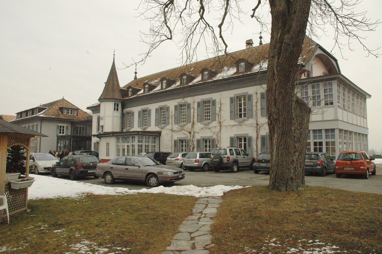 Part of the building complex at the WCC Ecumenical Institute at Bossey (Switzerland), where the ELCA delegation visited Feb. 16.