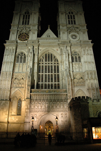 The ELCA delegation attended 'Evensong' Feb. 5 at Westminster Abbey, London