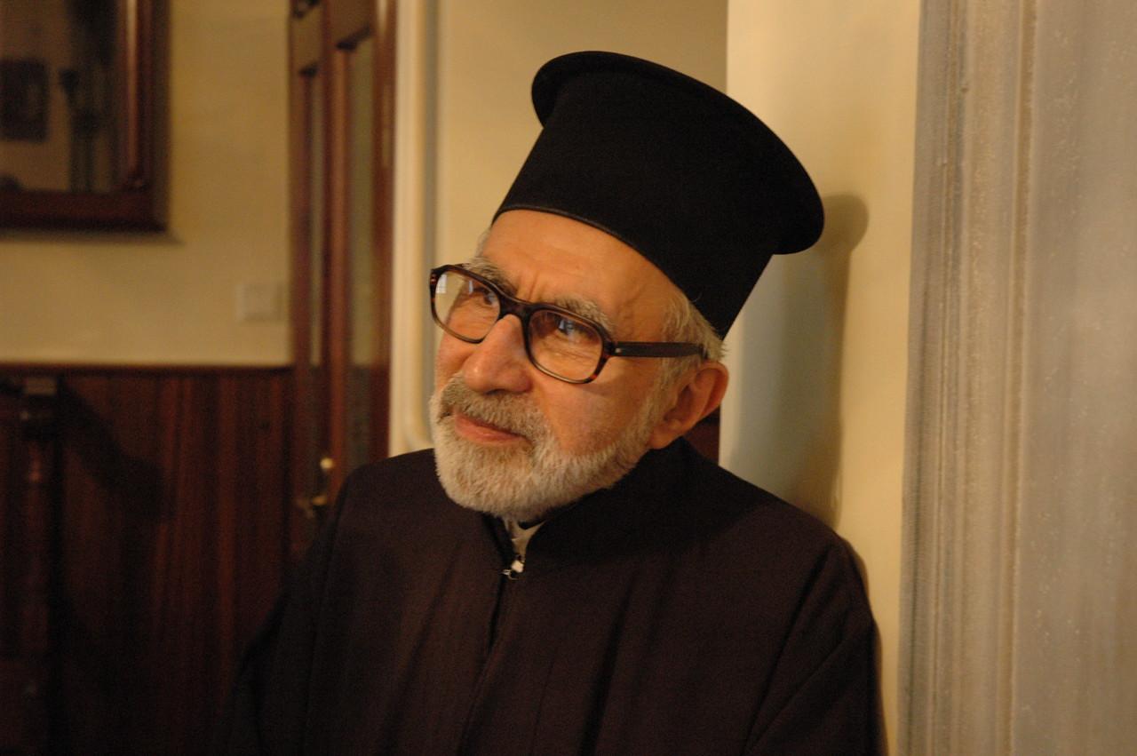 Father Dorotheos, the Theological School of Halki (Turkey).