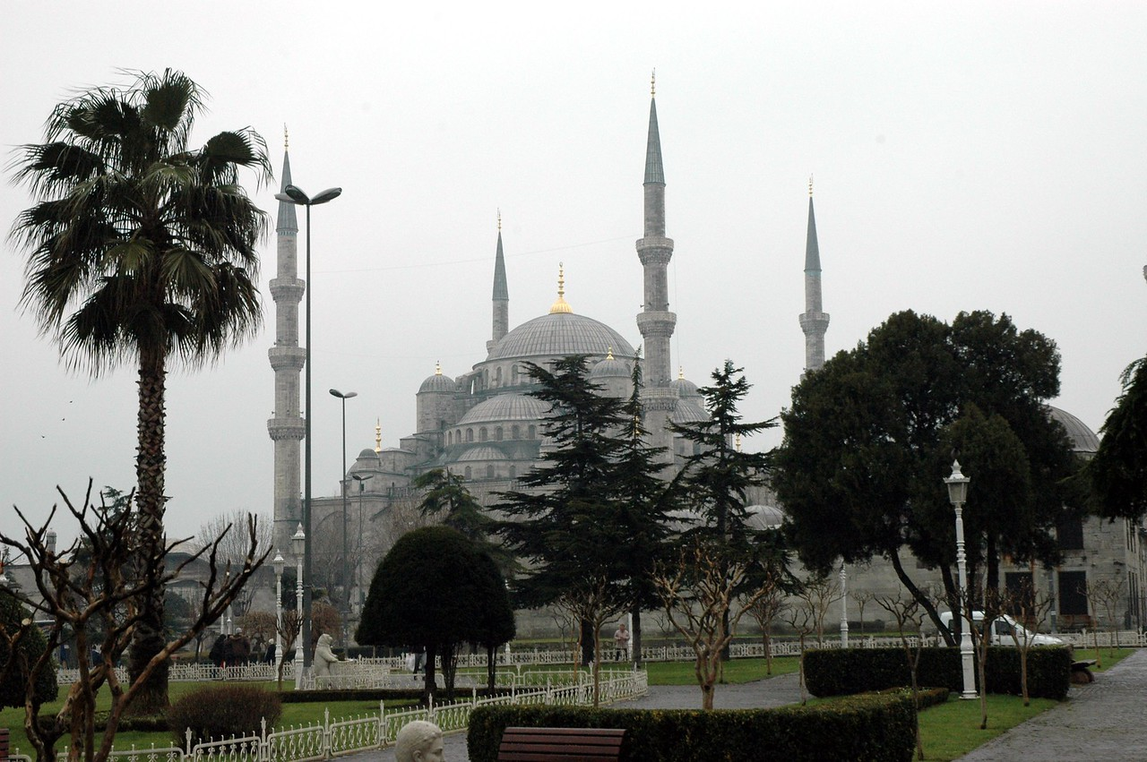 The famous Blue Mosque, Istanbul.