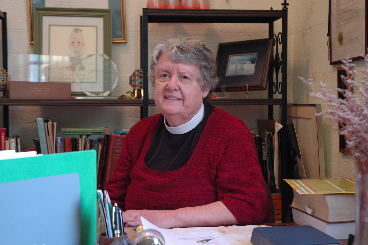 The Rev. Elizabeth A. Platz has served the University of Maryland Lutheran Campus Ministry for nearly 45 years.