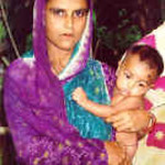 Monowora brought her son Abraham in to a medical clinic operated by  Lutheran Health Care Bangladesh.