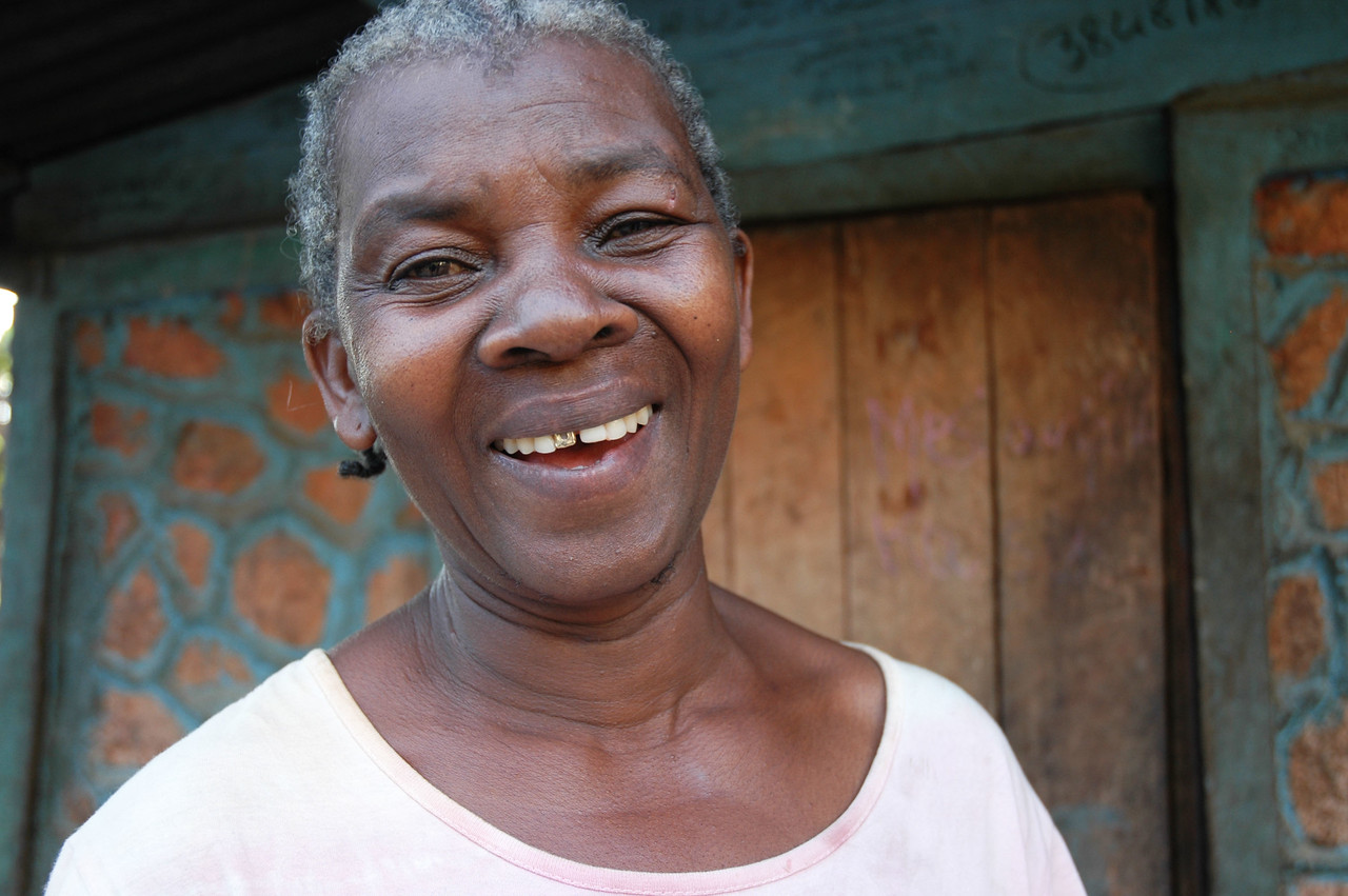 Esta and her husband Jesus own a coffee plantation near Eglise Lutherienne in Thiotte, Haiti.