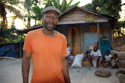 Jesus Joseph and Esta own a coffee plantation near Eglise Lutherienne in Thiotte, Haiti.