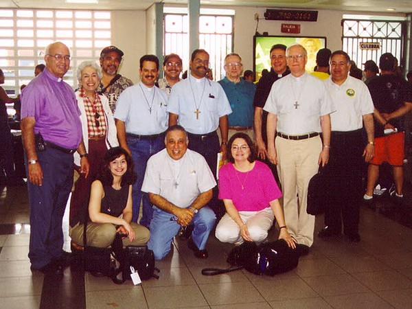 The Lutheran delegation visited Vieques on March 23.  It included clergy, lay leaders and staff of the ELCA from across the United States and Caribbean.
