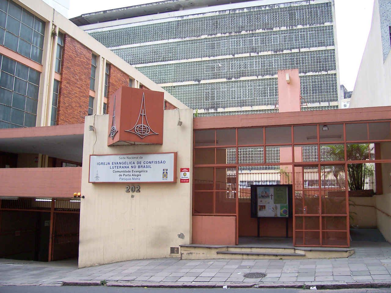 The churchwide office of Igreja Evangélica de Confissão Luterana no Brasil (Evangelical Church of the Lutheran Confession in Brazil), Sao Paulo, Brazil.