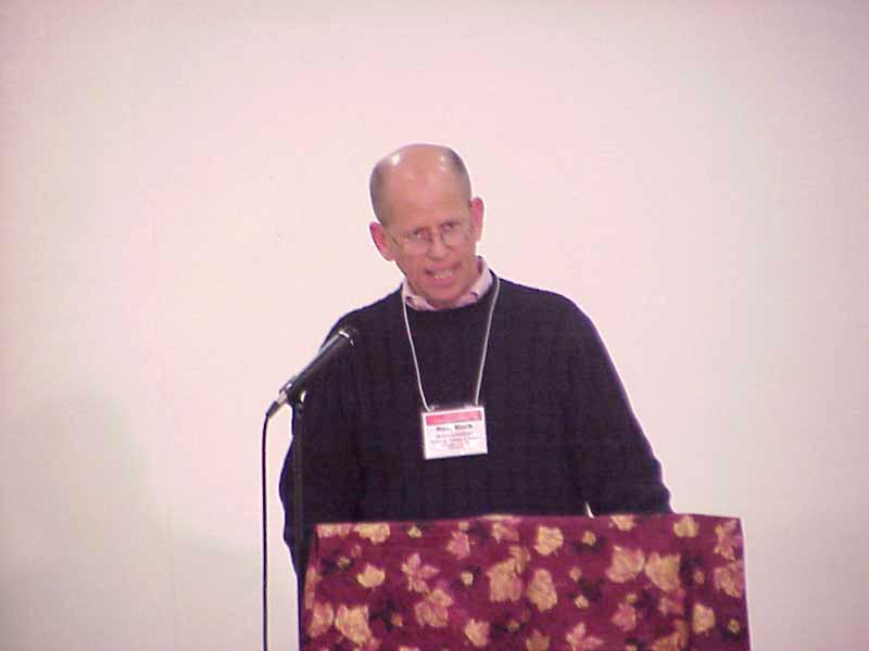 """The Rev. Mark Moller-Gunderson, executive director, ELCA Division for Congregational Ministries, shared information on ELCA household incomes in a presentation """"Wealth in the Church."""""""