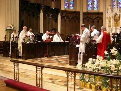 The May 1 celebration in Buffalo was led by leaders of the Evangelical Lutheran Church in America and the Anglican Church of Canada.