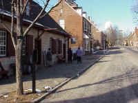 The day began with tours of Old Salem in the historic section of Winston-Salem surrounding Salem College. Moravians settled in the area in the late 1700s and founded Salem, which joined Winston in 1913 to form Winston-Salem, N.C.
