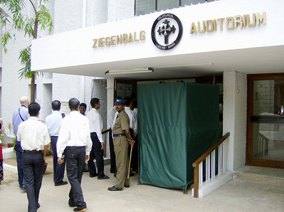Gurukul Lutheran Theological College and Research Institute hosted The Tranquebar Tercentenary Celebrations in its Ziegenbalg Auditorium in  Chennai, India.  The National Council of Churches in India, Tamil  Evangelical Lutheran Church and United Evangelical Lutheran Church in  India also sponsored the events July 3-9 in Chennai and Tranquebar.