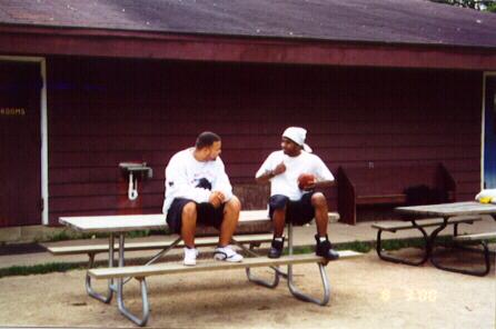 Simba Circle Nation Builders, LeLand Bass and Brandon  Sands.