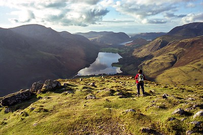 Fleetwith Pike Summit - The View Over Buttermere