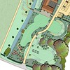ELD masterplan, to show immediate grounds around the Medieval Barn wedding venue and conference hall.