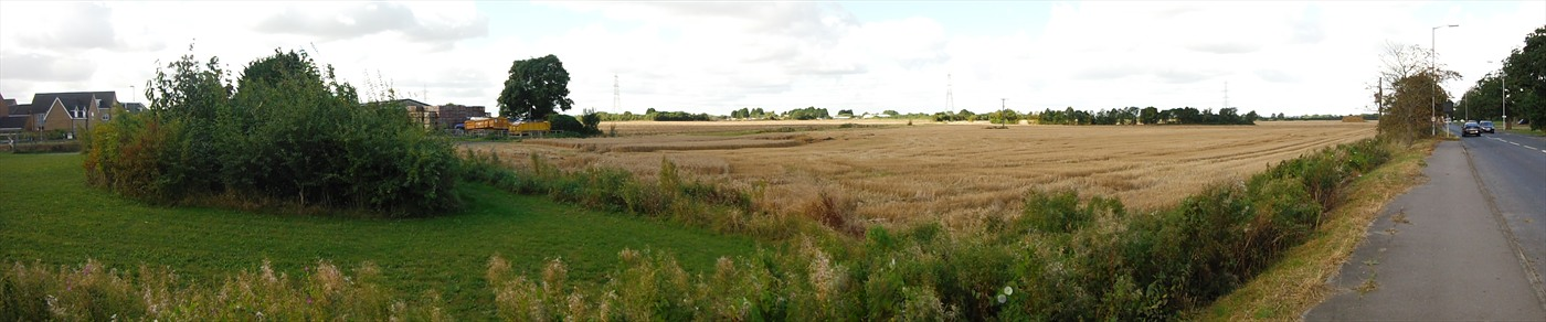 Photo of the existing site.