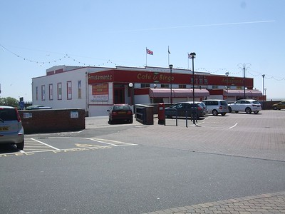 Photograph of the existing Felixstowe Pier.