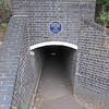 The Cattle Tunnel link below the railway line.