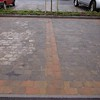 Car parking paving details.