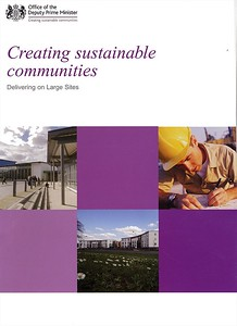 ODPM Case Study recognition for Netherne's sustainable design approach.