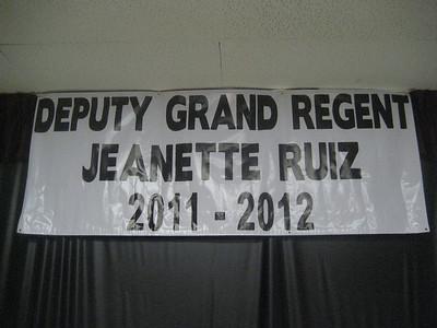 WOMEN OF THE MOOSE • JEANETTE RUIZ, DEPUTY GRAND REGENT • 10.22.11
