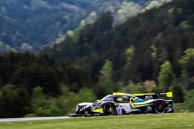 LMP3, Car #18 Alessandro Bressan (ITA), Andreas Laskaratos (GRC), Damiano Fioravanti (ITA), 1 AIM VILLORBA CORSEITAM, Qualifying for the 4 hours of the Red Bull Ring