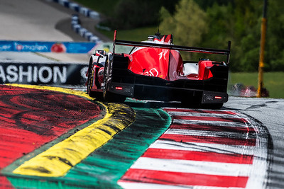 Louis Deletraz in car #41 WRT Oreca Gibson during free practice for the 4h of the Red Bull Ring
