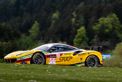Car #66 J. Fannin / A. Fontana / R. Sales, JMW Motorsport, GTE Class, Qualifying for the 4 Hours of the Red Bull Ring