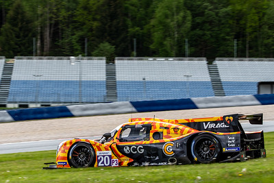 LMP3, Car #20 Rob Hodes (USA) / Garett Grist (CAN) / Charles Crews (USA), TEAM VIRAGE, Qualifying for the 4 hours of the Red Bull Ring
