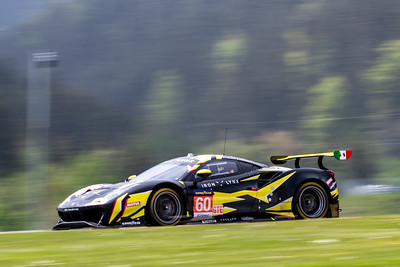 Car #60 C. Schiavoni, G. Sernagiotto, P. Ruberti, Iron Lynx Team,  Qualifying for the 4 Hours of the Red Bull Ring